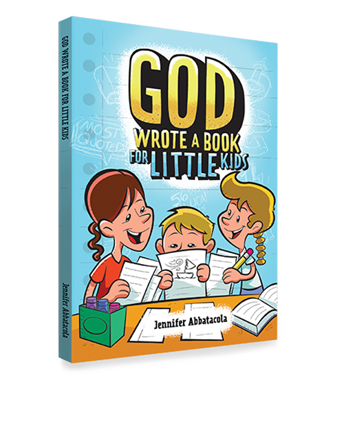 GOD WROTE A BOOK FOR LITTLE KIDS