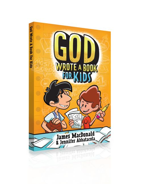 GOD WROTE A BOOK FOR KIDS